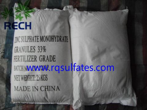 zinc mono granular